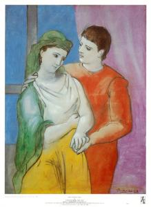 The Lovers by Pablo Picasso