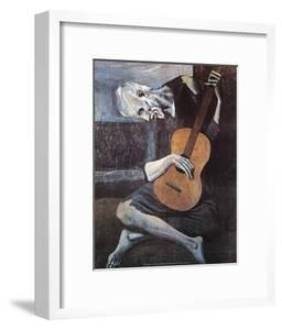 The Old Guitarist, c.1903 by Pablo Picasso