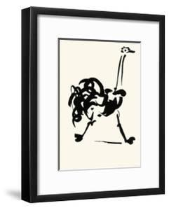 The Ostrich by Pablo Picasso
