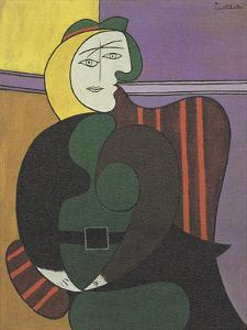 The Red Armchair by Pablo Picasso