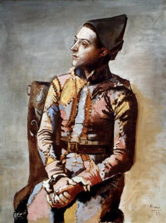 The Seated Harlequin, 1923