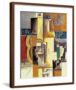 Violin And Guitar by Pablo Picasso