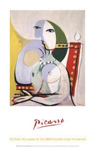 Woman in an Armchair by Pablo Picasso