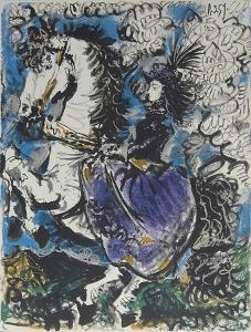 Woman on Horseback by Pablo Picasso