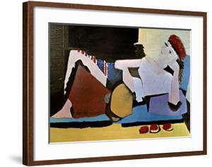 Woman with Tambourine by Pablo Picasso