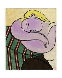 Woman with Yellow Hair (Femme aux cheveux jaunes) by Pablo Picasso