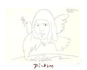 Youri Gagarine by Pablo Picasso