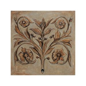 Decorative Scroll I by Pablo Segovia