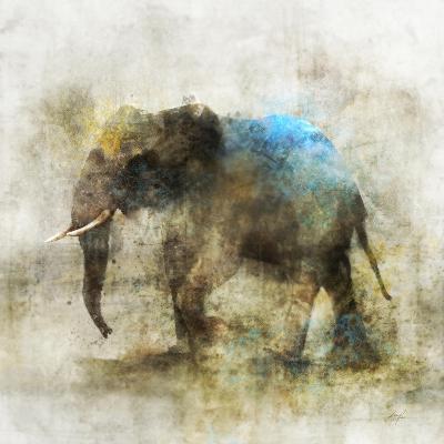 Pachyderm Dance 2-Ken Roko-Art Print