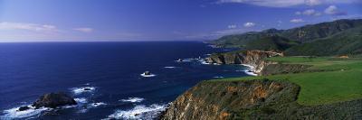 Pacific Coast, Big Sur, California, USA--Photographic Print