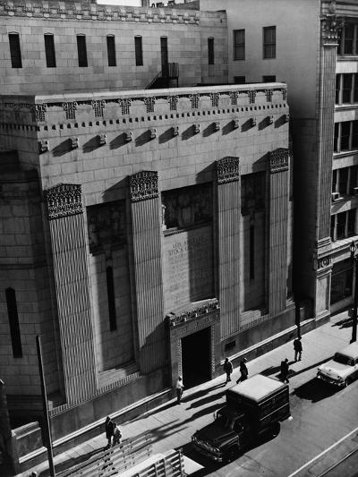 Pacific Coast Stock Exchange--Photographic Print