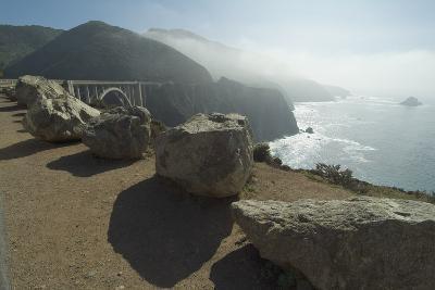 Pacific Coastline at Bixby Bridge, Near Big Sur, California, Usa-Natalie Tepper-Photo
