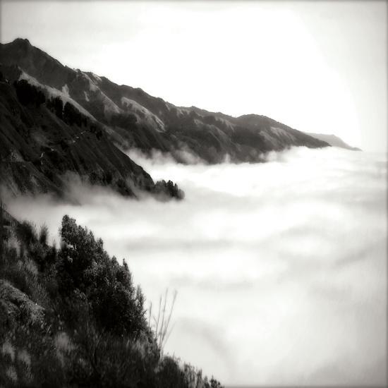 Pacific Fog Sq I-Alan Hausenflock-Photographic Print