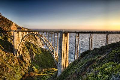 Pacific Highway Bridge-George Oze-Photographic Print