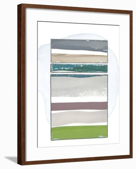 Pacific Horizon II-Rob Delamater-Framed Premium Giclee Print