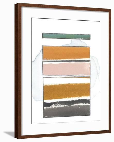 Pacific Horizon XII-Rob Delamater-Framed Premium Giclee Print