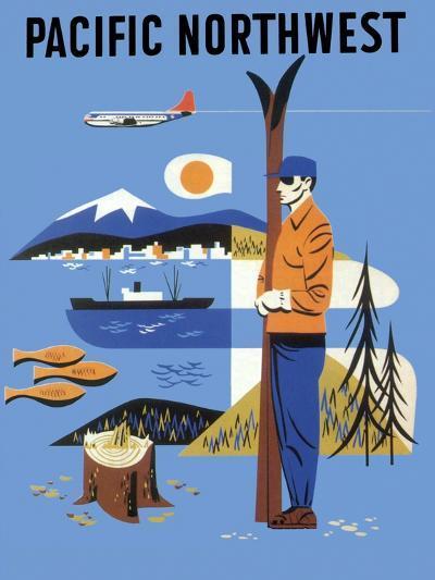 Pacific Northwest, c.1956--Giclee Print