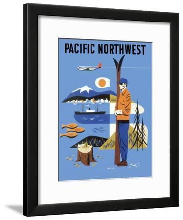 Pacific Northwest, c.1956