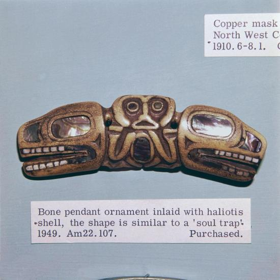 Pacific Northwest Coast Indian Haida Tribe, Soul Trap, used by a Shaman-Unknown-Giclee Print