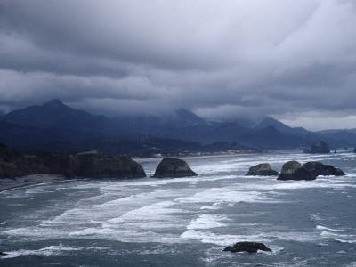 Pacific Ocean Along the Coast of Oregon-Eliot Elisofon-Photographic Print