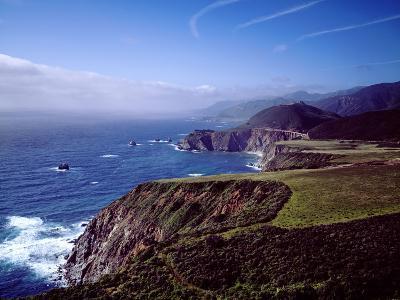 Pacific Ocean and Rocky California Coast-Carol Highsmith-Photo