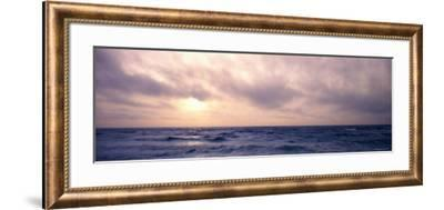 Pacific Ocean at Sunset, California, USA--Framed Photographic Print