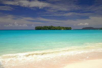 Pacific Ocean Beach-Port Olry-Vanuatu- livcool-Photographic Print
