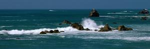 Pacific Ocean Waves and Sea Stacks Ca