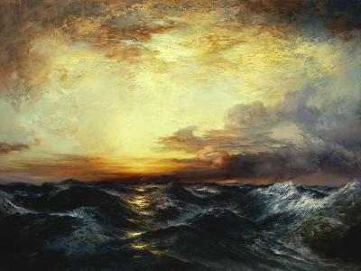 Pacific Sunset, 1907-Thomas Moran-Giclee Print