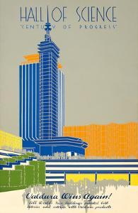 1934 Chicago World's Fair Hall of Science - Century of Progress by Pacifica Island Art