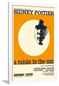 A Raisin in the Sun - Starring Sidney Poitier and Claudia McNeil by Pacifica Island Art
