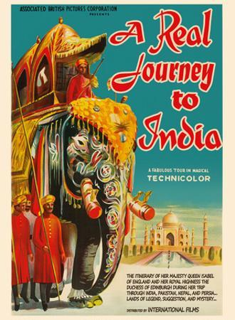 A Real Journey To India - Queen Elizabeth's trip through India, Pakistan, Nepal and Persia