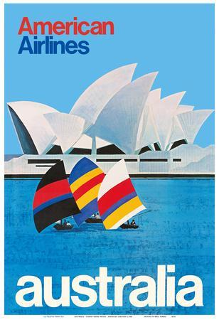 Australia - Sydney Opera House - American Airlines