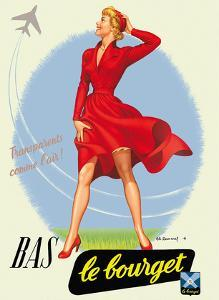 BAS Le Bourget Paris - Stockings Hosiery by Pacifica Island Art