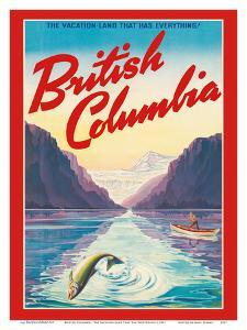 British Columbia - The Vacation-Land That Has Everything! by Pacifica Island Art