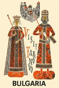 Bulgaria - Visit Tarnovo - City of the Tsars by Pacifica Island Art