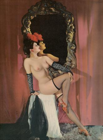 Burlesque Beauty - Stocking Clad Showgirl