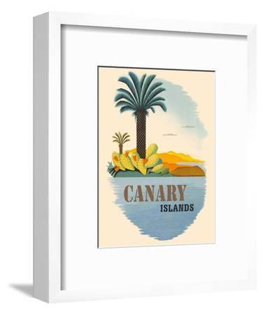 Canary Islands - Palm Trees and Cactus