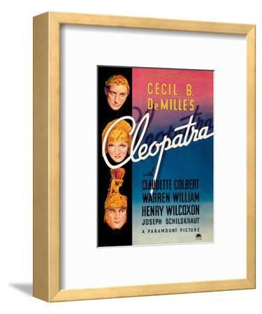 Cecil B. DeMille's Cleopatra - Starring Claudette Colbert, Warren William, and Henry Wilcoxon