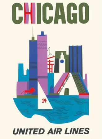 Chicago, Illinois - United Air Lines