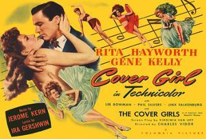 Cover Girl - Starring Rita Hayworth & Gene Kelly - Directed by Charles Vidor by Pacifica Island Art