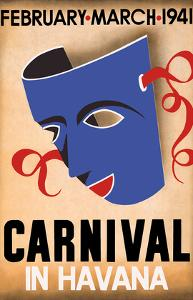 Cuba - Carnival in Havana - February, March 1941 by Pacifica Island Art