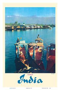 Dal Lake - Kashmir India - Srinagar's Jewel by Pacifica Island Art