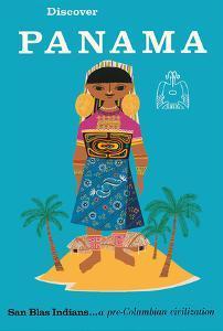 Discover Panama - San Blas Indians...a Pre-Columbian Civilization by Pacifica Island Art