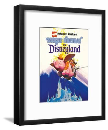 Disneyland Magic Holiday - Western Airlines - Dumbo the Flying Elephant
