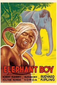Elephant Boy by Rudyard Kipling - Starring Robert Flaherty by Pacifica Island Art