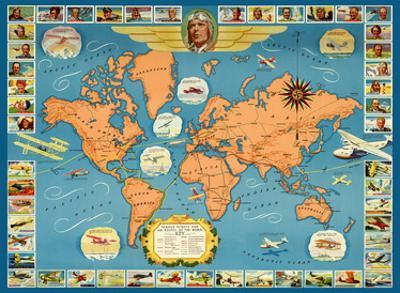 Famous Flights and Air Routes of the World - Charles Lindbergh