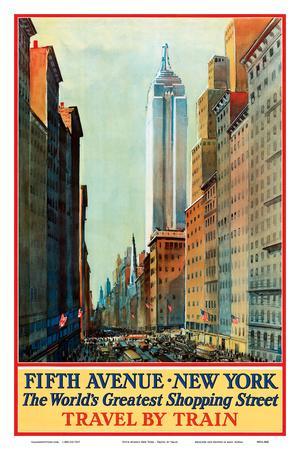 Vintage New York Poster USACAN063 Art Print A4 A3 A2 A1