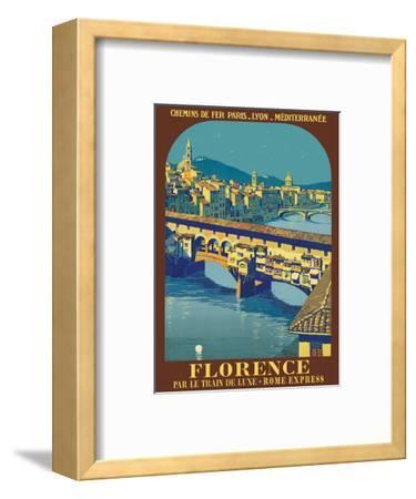 Florence, Italy - Ponte Vecchio - Chemins de fer de Paris-Lyon-Méditerranée (PLM)