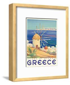 Greece - Island of Mykonos by Pacifica Island Art